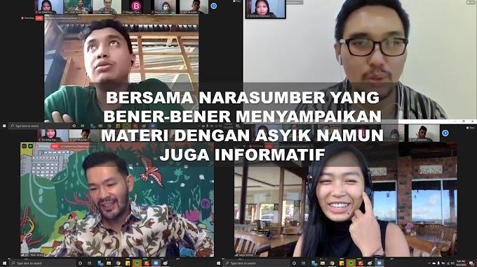 WEBINAR OLEH HUTAN ITU INDONESIA : BUKAN WEBINAR BIASA