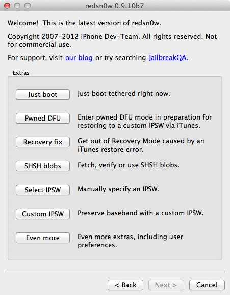 Download Redsn0w 0.9.10 b7 To Jailbreak iOS 5.0.1 Untethered On iPhone 4S And iPad 2