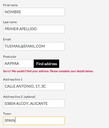 ejemplo rellenar formulario giffgaff