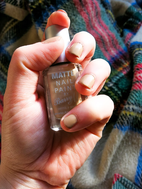 Barry M Matte Nail Paint in Caramel