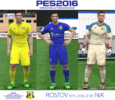 Rostov kits 2016-17 by NiK
