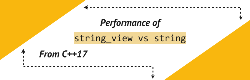 Using std::string_view from C++17