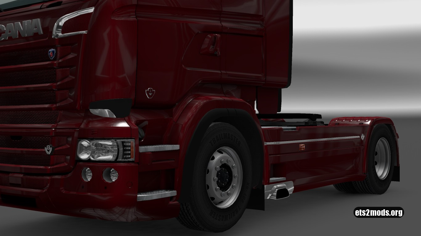 V8 Door badges for RJL Scania v 1.0