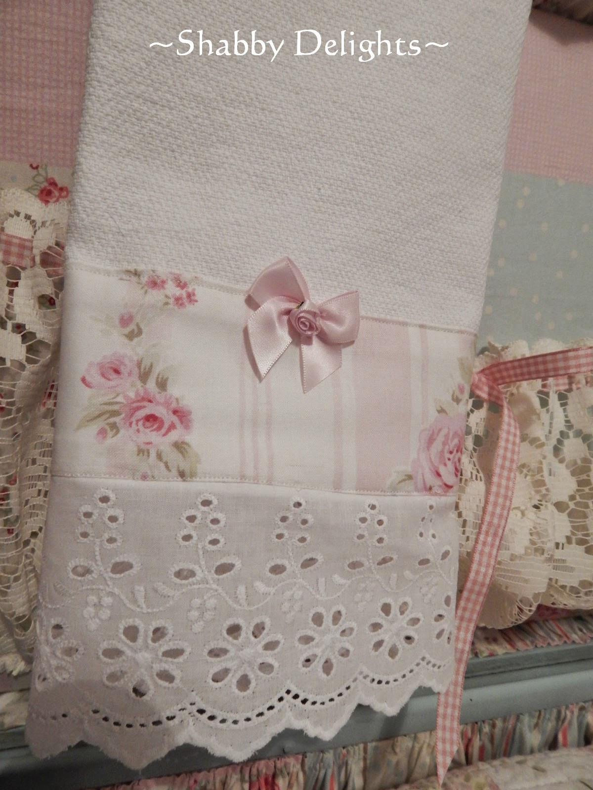 Shabby delights where does all the time go - Telas shabby chic ...