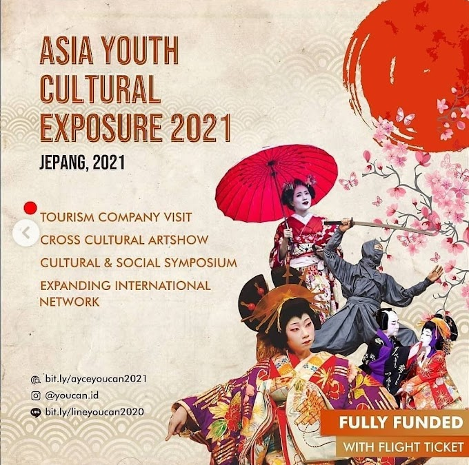 Fully Funded ASIA Youth Cultural Exposure 2021 Japan