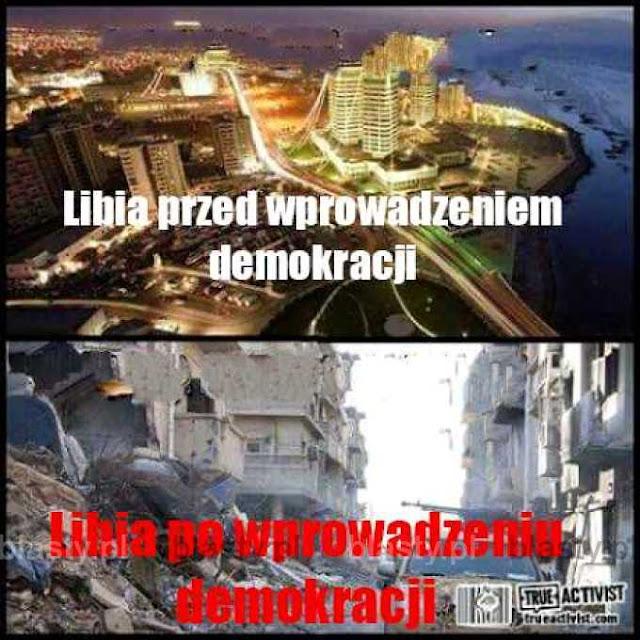 libia za kadafiego i libia za demokracji amerykańskiej