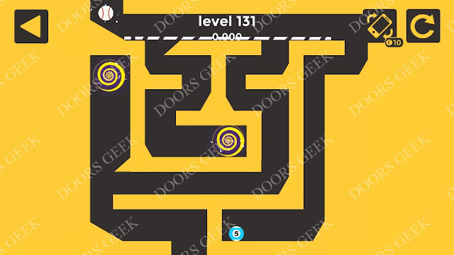 Ball & Ball Level 131 Solution, Walkthrough, Cheats for android and ios