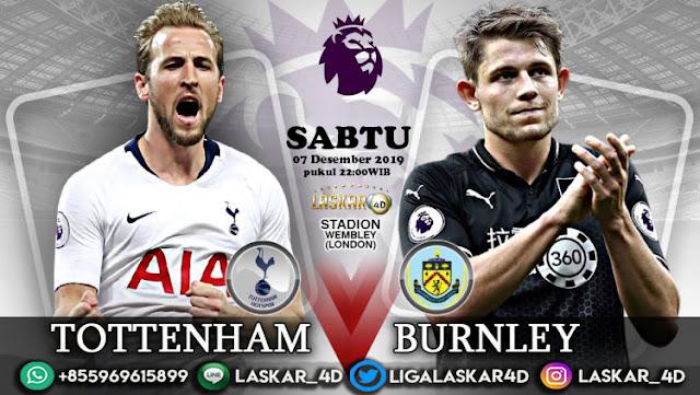 Prediksi Pertandingan Bola Tottenham Hotspur vs Burnley 07 Desember 2019