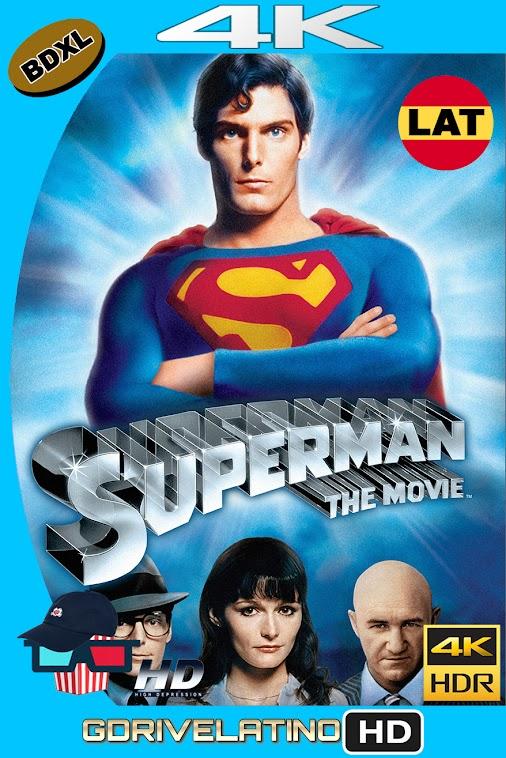Superman : La Pelicula (1978) BDXL 4K UHD HDR Latino-Ingles ISO