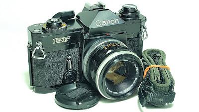 Canon EF (Black Beauty) Body #788, Canon FL 50mm 1:1.8 #360