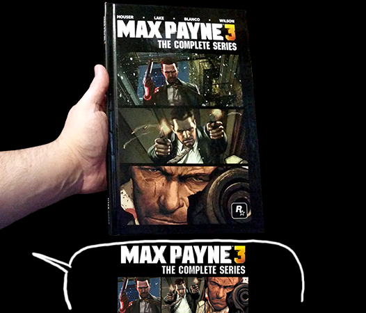 G33k Life Cbr Max Payne The Complete Series Marvel