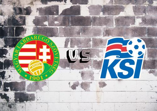 Hungría vs Islandia  Resumen