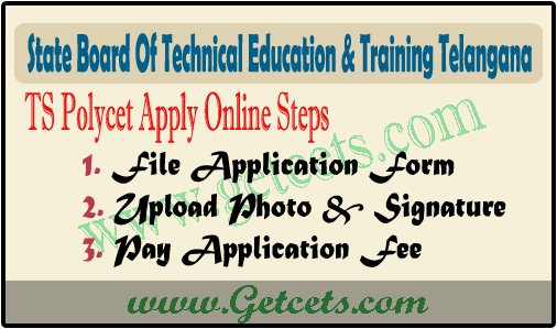 TS Polycet Application Form 2022-2023 last date @polycetts.nic.in