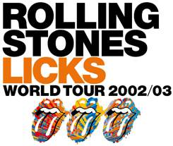 Resultado de imagen de 40 Licks World Tour en 2003 madrid
