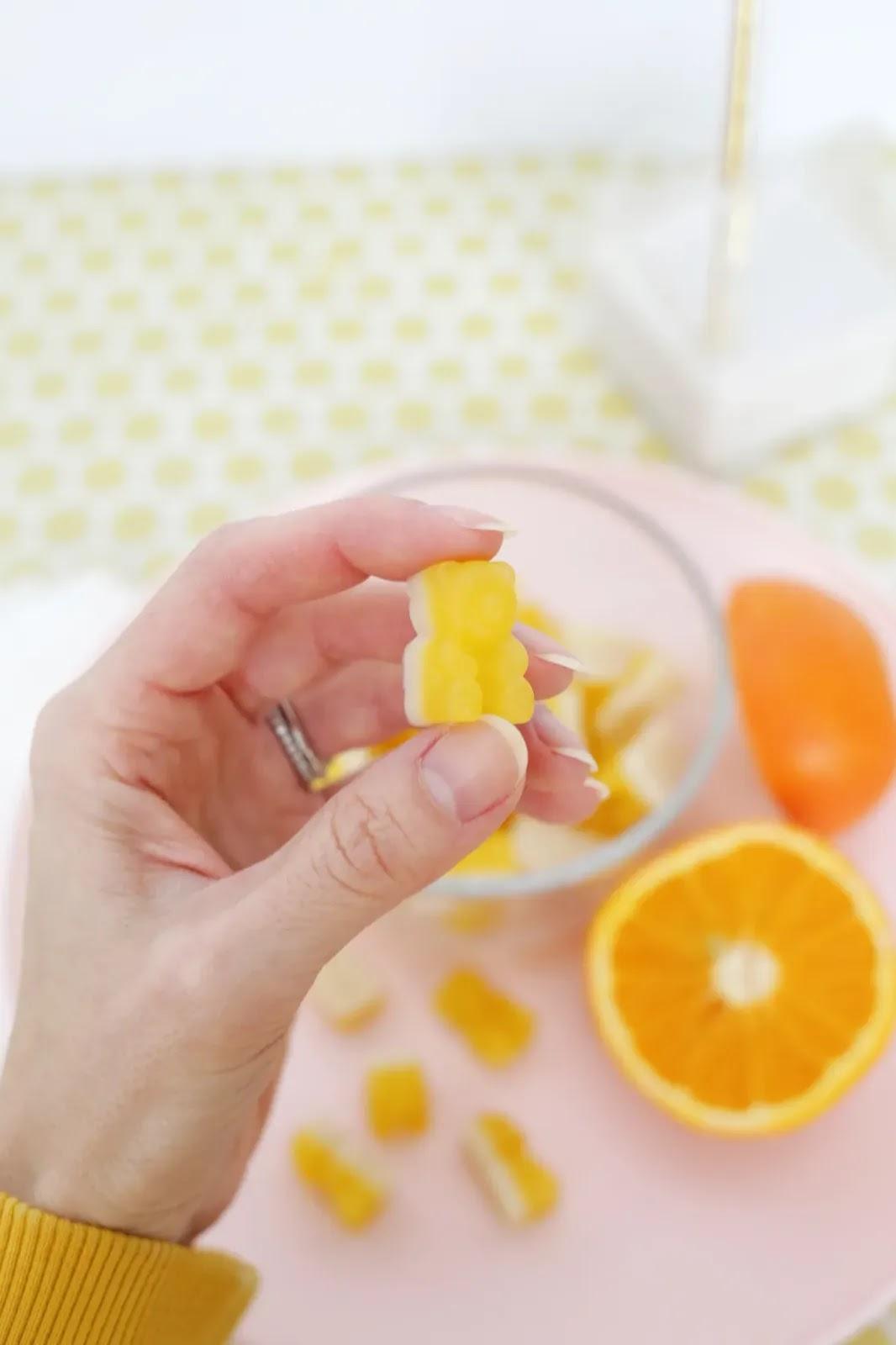 gominolas caseras de fruta