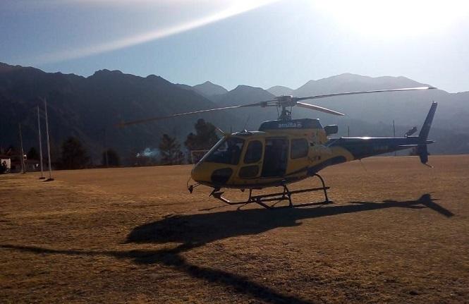 Fueron rescataron los tres andinistas perdidos en la zona de Vallecitos