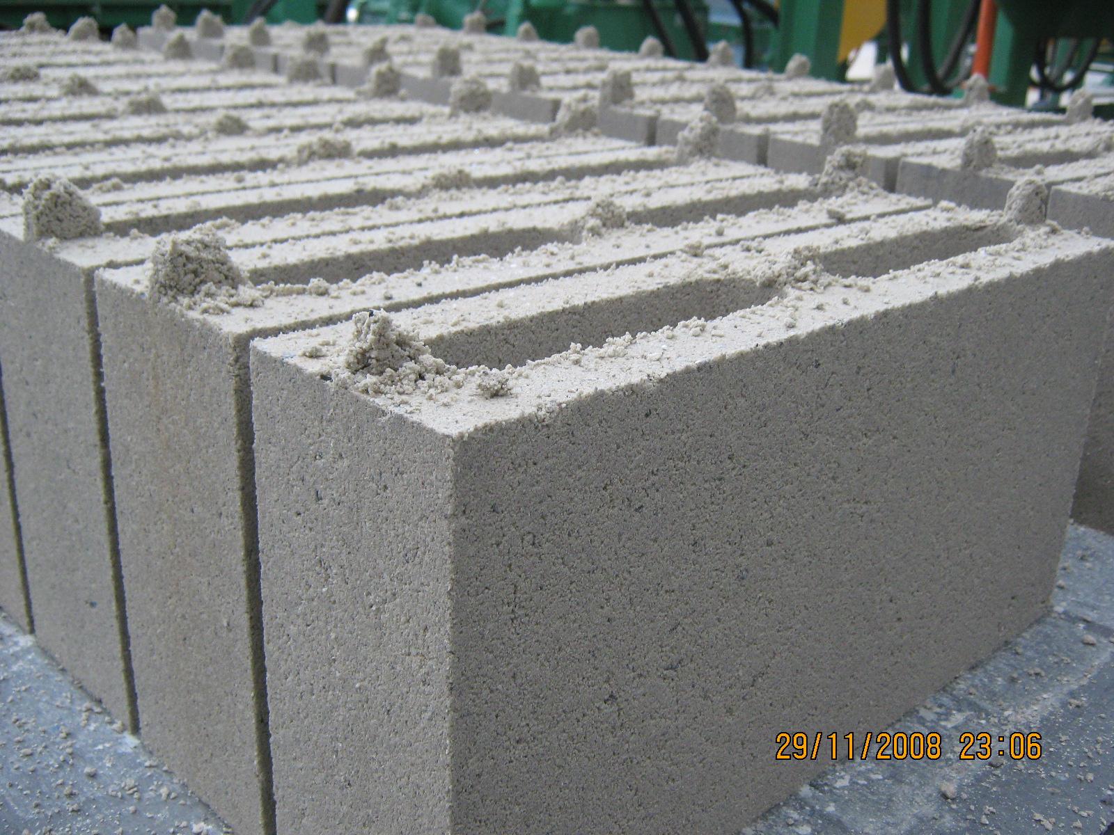 produccin de bloques de hormign en colombia
