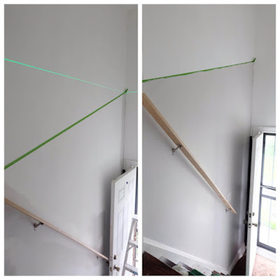 painting walls with an angled edge