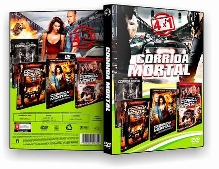 DVD Coleção - Corrida Mortal - 4x1 - ISO