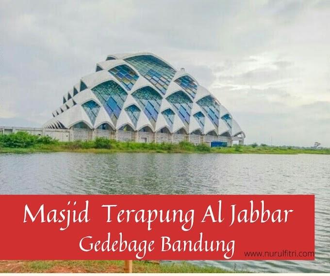 Masjid Terapung Al Jabbar Gedebage Bandung