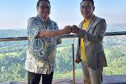 Airlangga Hartarto Bersama Kang Emil Lakukan Pertemuan di Bandung