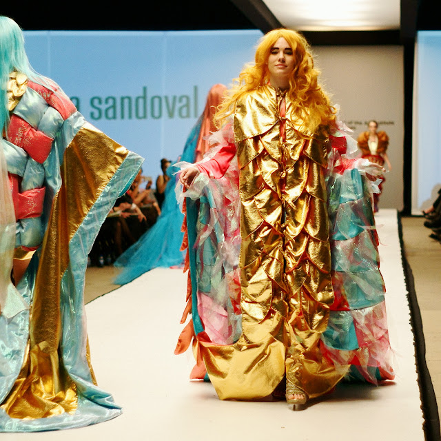 The School of the Art Institute of Chicago's 79th annual fashion show, May 3, 2013.
