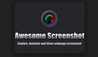 screenshot halaman penuh