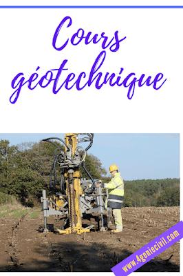 Cours géotechnique pdf
