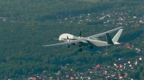 Russian Defense showed the first flight of the heavy drone Altius-U