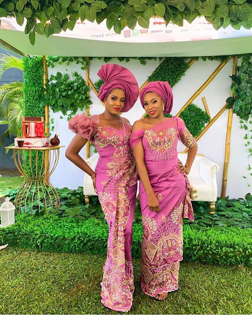 2019 Latest Gorgeous Asoebi Styles