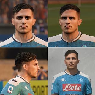 FIFA 20 Faces Eljif Elmas by EmreKaya