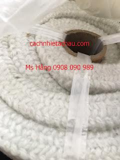 Dây sợi gốm Ceramic chịu nhiệt, chống cháy   Cách nhiệt Á Châu 61a7e01aa1b15def04a01