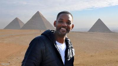 صورة ويل سميث فى مصر
