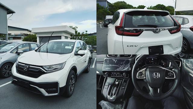 Honda CRV 2.0 2WD Spec