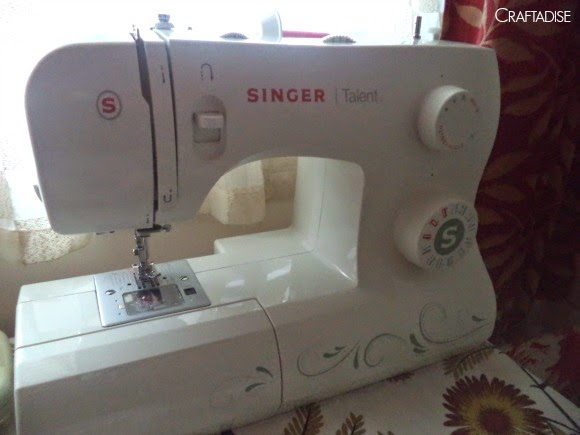 My new sewing machine and my first sewing project, Singer Talent