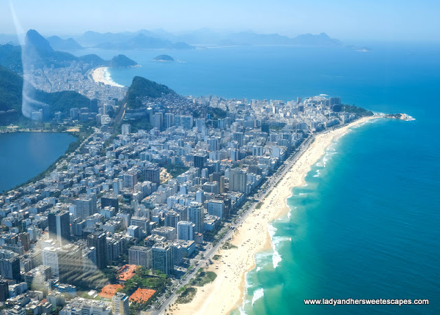 Barra da Tijuca from helicopter