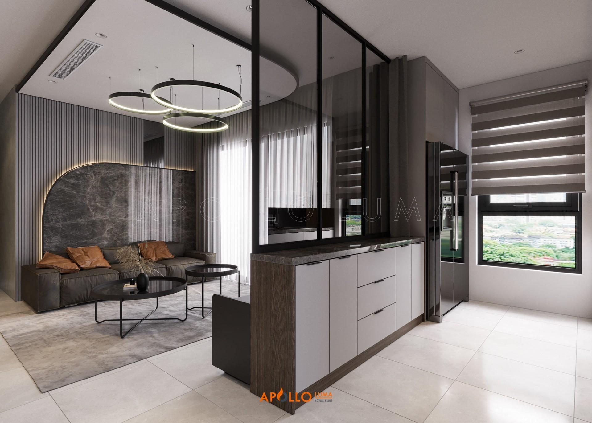 Thiết kế nội thất căn 3PN (80m2) SThiết kế nội thất căn 3PN (106m2) Vinhomes Smart City Tây Mỗ3.03-15A Vinhomes Smart City Tây Mỗ