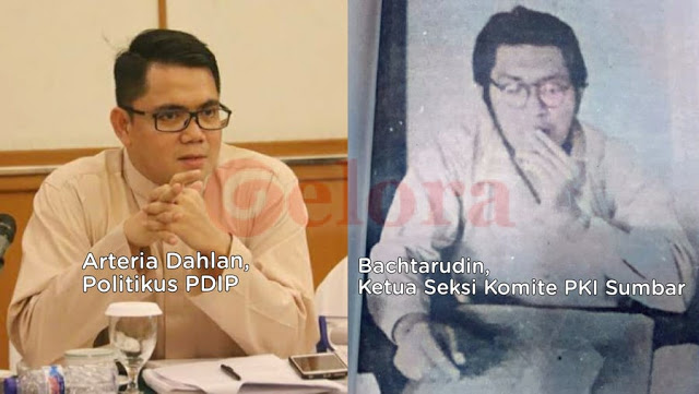 Disebut Kakek Arteria PDIP, Beredar Foto Bachtarudin Ketua Seksi Komite PKI Sumbar