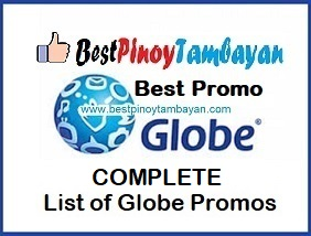 Complete List of Globe Promos