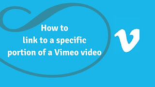 How to Link to a Specific Part of a Vimeo video