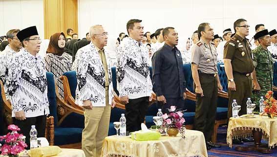 Kab Rokan Hulu Riau, Penghasilan Guru Honorer Masih di Bawah UMK