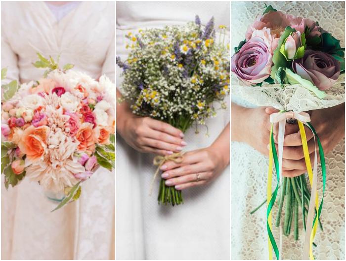 Bouquet Sposa Fiori Di Campo.Spose Italiane Consigli Per La Sposa Su Come Organizzare Un