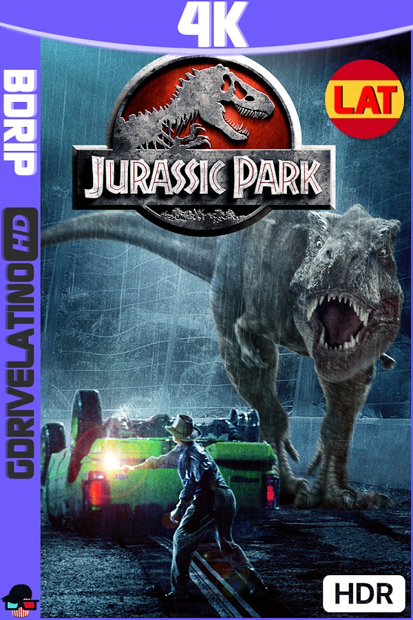 Jurassic Park (1993) BDRip 4K HDR Latino-Ingles MKV