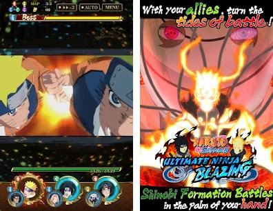 Screenshot Ultimate Ninja Blazing Mod Apk