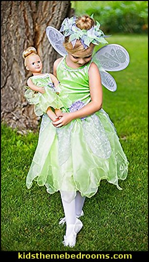 Fairy Halo & Wand Accessory Set for Girls  tinkerbell party supplies - Tinkerbell party decorations - Disney fairies party supplies - party themes fairies -  tinkerbell peter pan party supplies - tinkerbell costume - disney fairy costume -  tinkerbell balloons