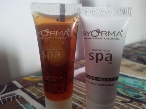 Ayorma Spa Fairness Face Wash & Daily Scrub