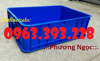 Thùng nhựa đặc HS003, thùng nhựa cao 19, thùng đặc chứa đồ 94cefda3a750450e1c41