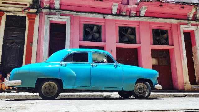 old Havana, old cars