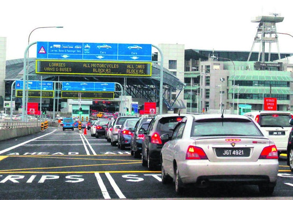 Cửa khẩu Tuaslink Checkpoint
