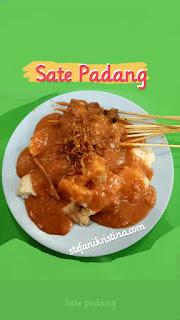 Review Sate Padang di Rumah Makan Padang Dicky Mulya